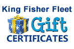 King Fisher Fleet Gift Certificates